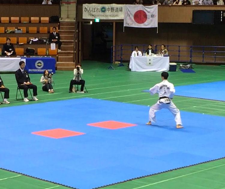 テコンドーの競技 トゥル(型)新宿早稲田ハナロテコンドースクール